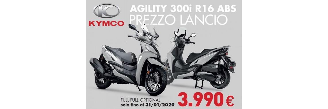 Kymco Agility 300
